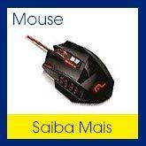 Mouse diversos modelos: mouse gamer, mouse sem fio, mouse com fio, mouse nano, mouse mini, mouse wi-fi, mouse bluetoth